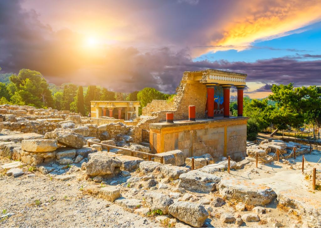 Palatul Knossos Creta