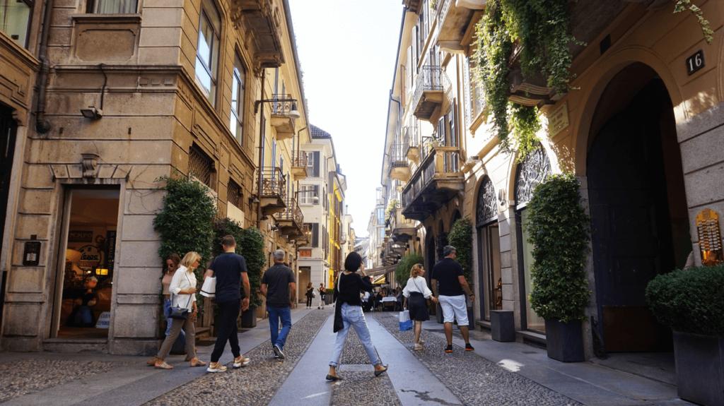 Brera Milano Italia