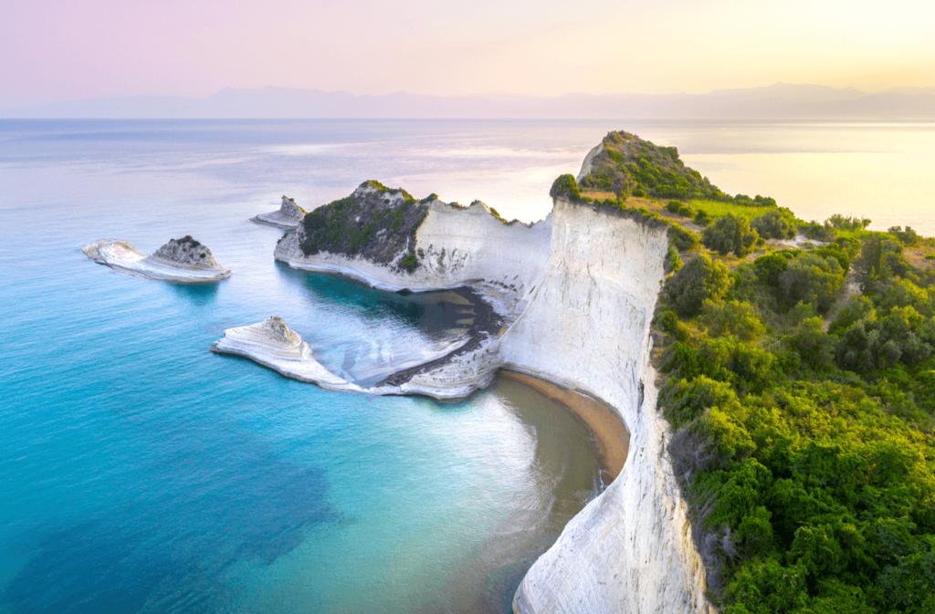 Capul Drastis Corfu Grecia