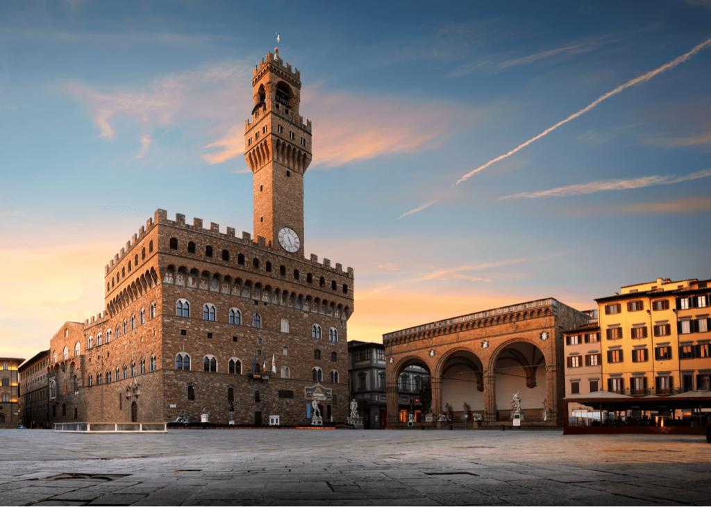 Palazzo Vecchio Florenta Italia