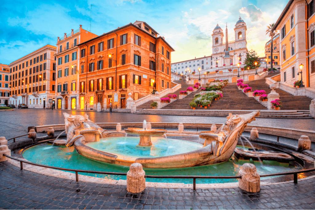 Piazza Spagna Roma Italia
