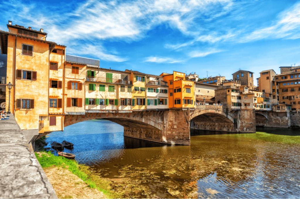 Ponte Vecchio Florenta Italia