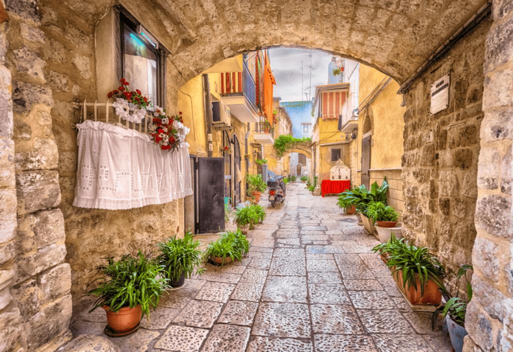 Bari Vecchia Puglia Italia