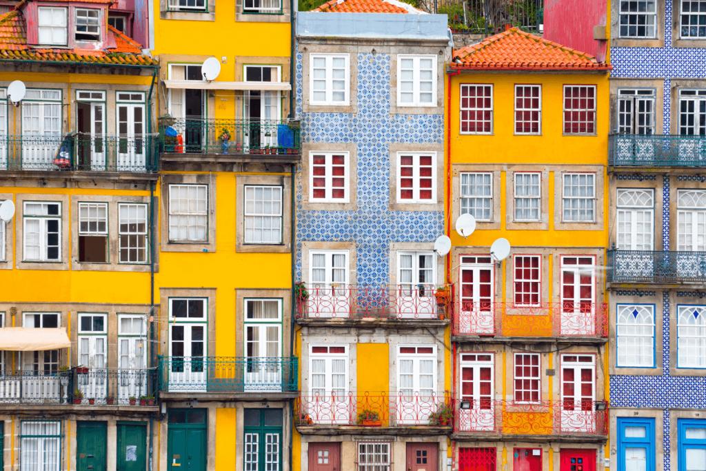 destinații calde iarna în Europa Porto
