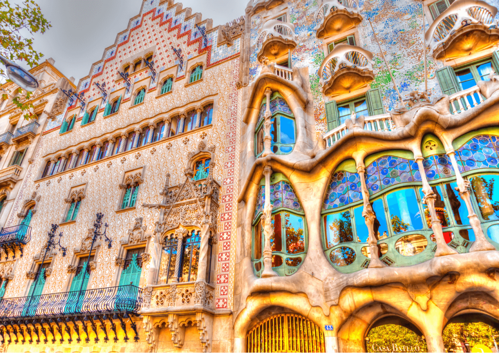 vacanță în Spania Barcelona Casa Batllo
