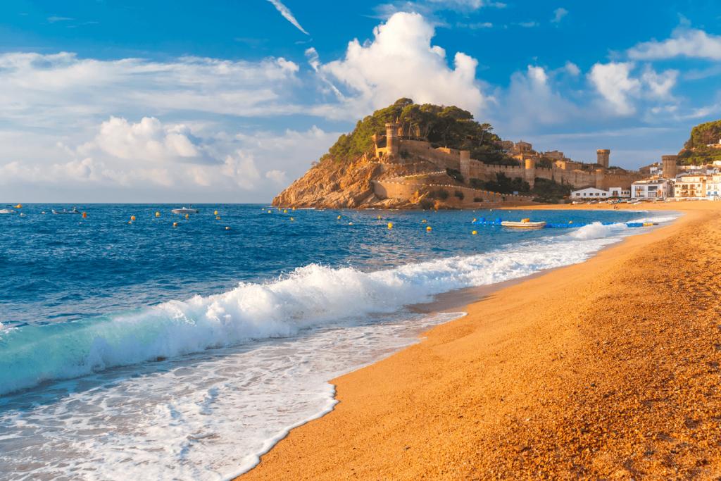 vacanță în Spania plaja